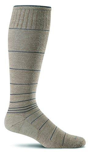 Sockwell Men's Circulator Compression Socks - Khaki, Large/XLarge