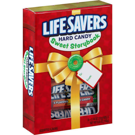 Life Savers Hard Candy Sweet Storybook and Crafts Holiday Gift - 1.14oz
