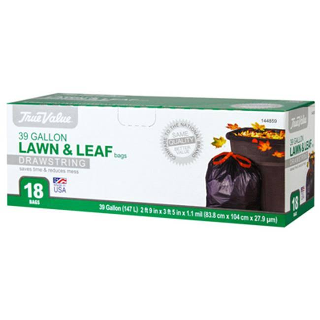 Berry Plastics Lawn and Leaf Trash Bags - 39gal, 18ct