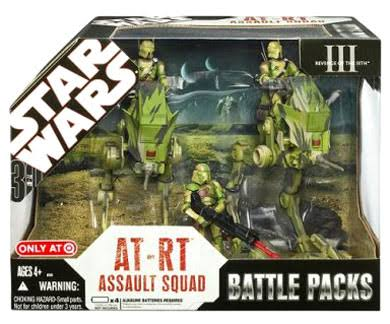 Star Wars AT-RT Assault Squad
