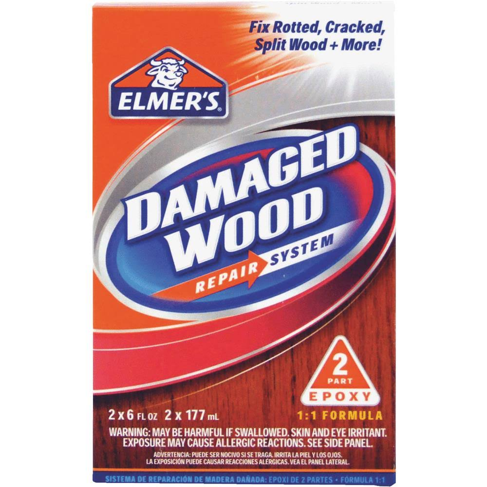 Elmer's Damaged Wood Repair System - 12oz