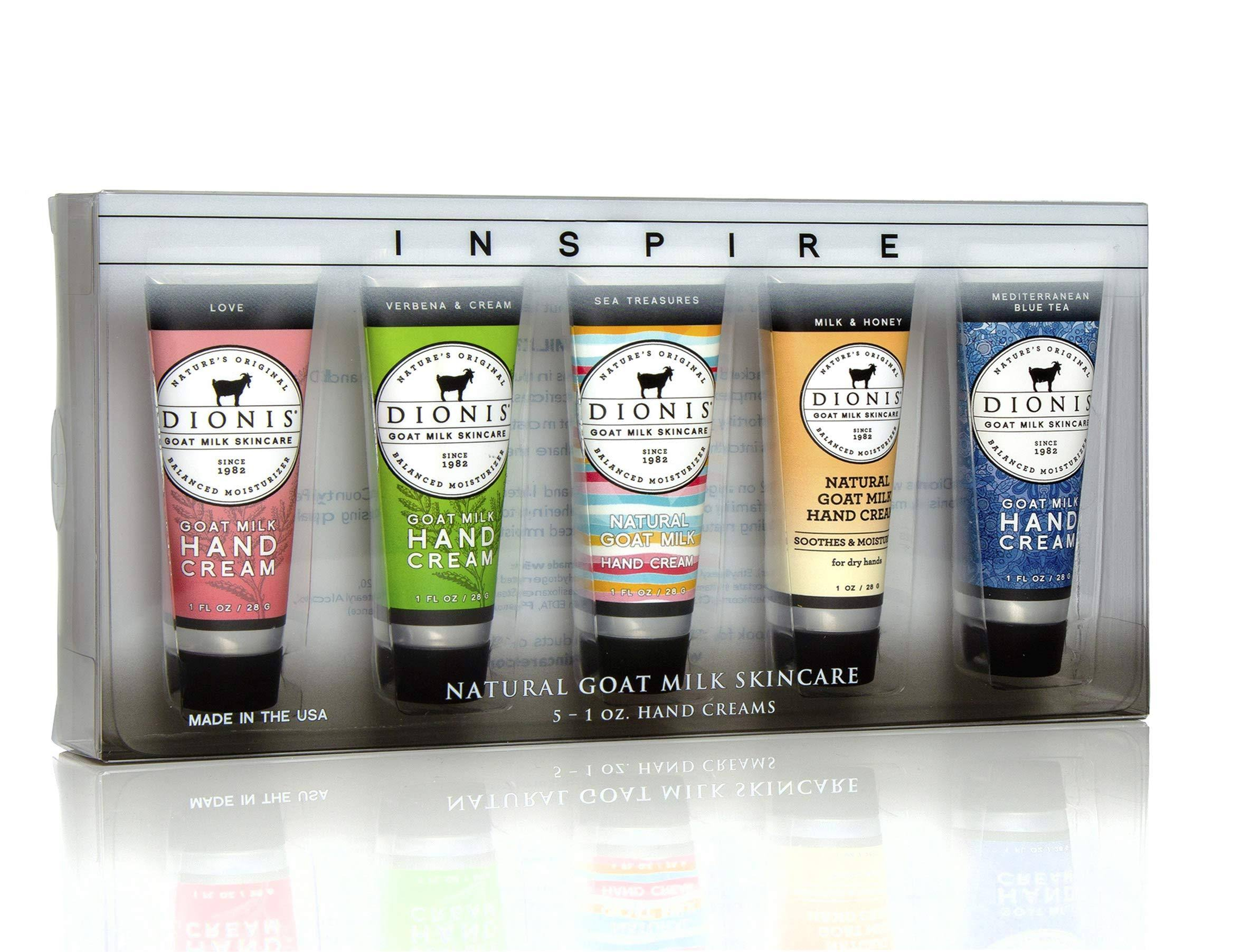Dionis Goat Milk Hand Cream Gift Set - 5pcs