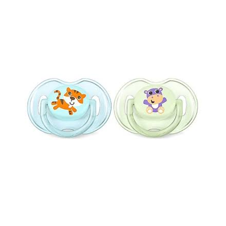 Philips Avent Classic Orthodontic Soothers - 2ct