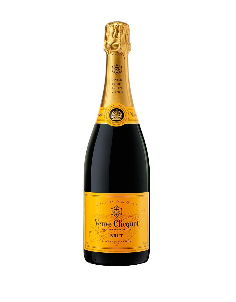 Veuve Clicquot NV Brut Yellow Label Champagne - 750 ml bottle