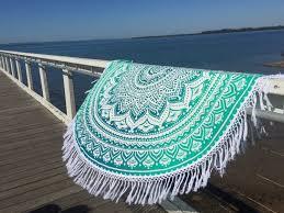 Gypsy Home Decor Nz by Amazon Com Popular Handicrafts Round Roundie Indian Mandala Round