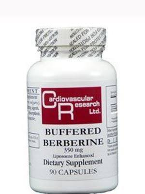 Cardiovascular Research Buffered Berberine Liposome Enhanced Dietary Supplement - 350mg, 90ct