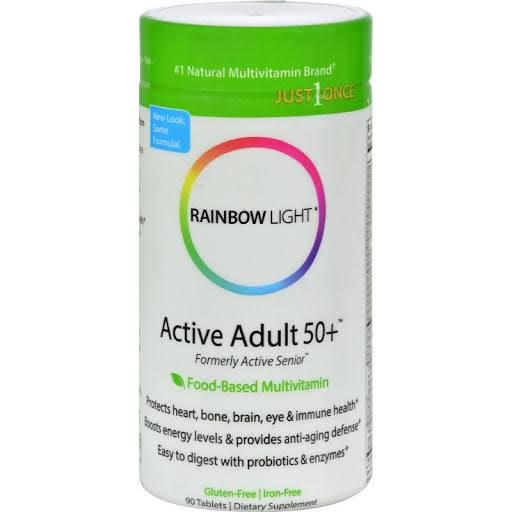 Rainbow Light Active Adult 50+ Multivitamin - 90 tablets