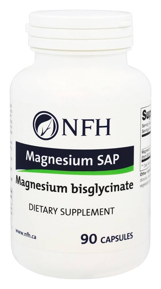 Nutritional Fundamentals for Health Magnesium Sap Dietary Supplement - 90ct