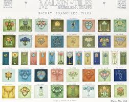 Versailles Tile Pattern Layout by Malkin U0027s Newport Pottery Burslem