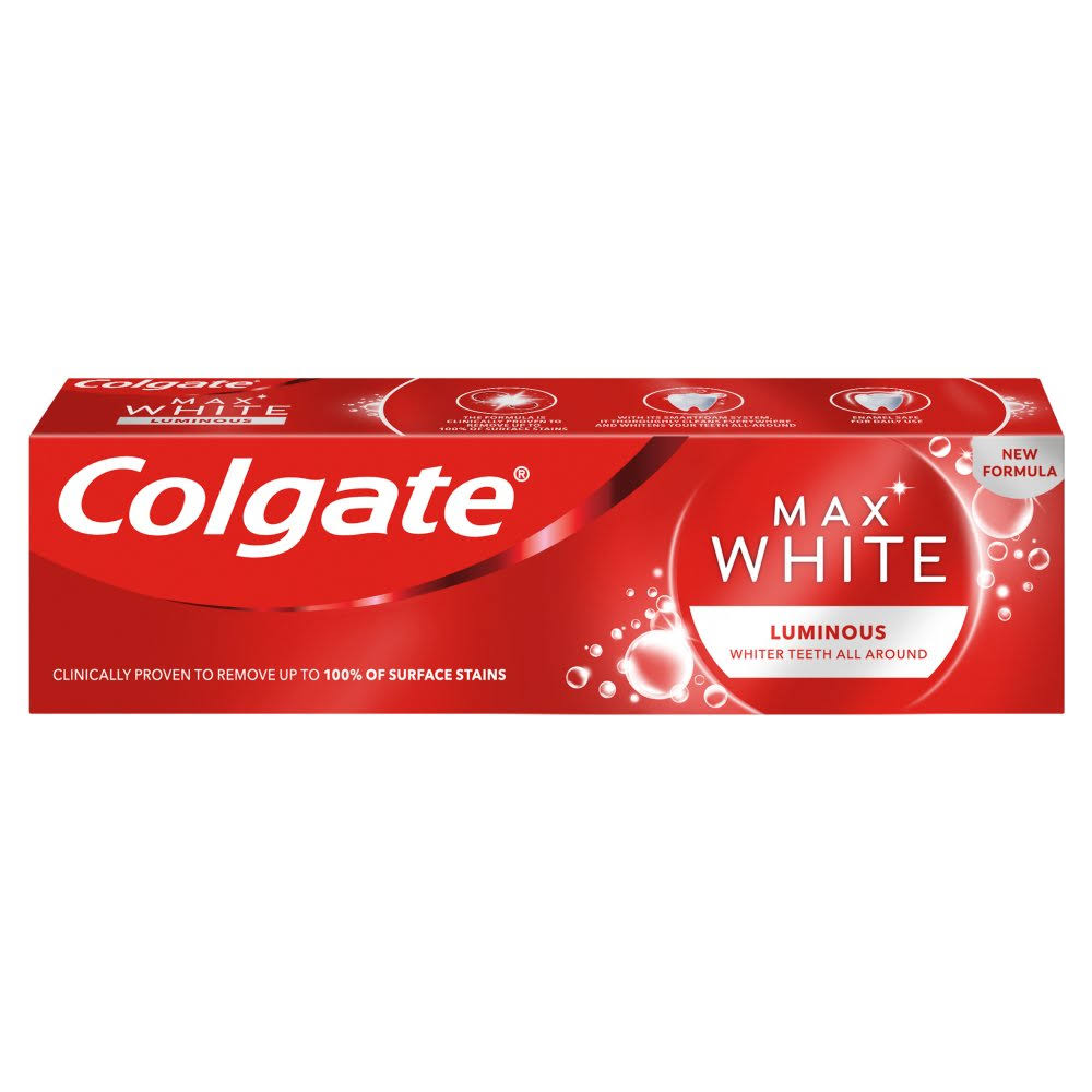 Colgate Max White One Luminous Toothpaste - 75ml
