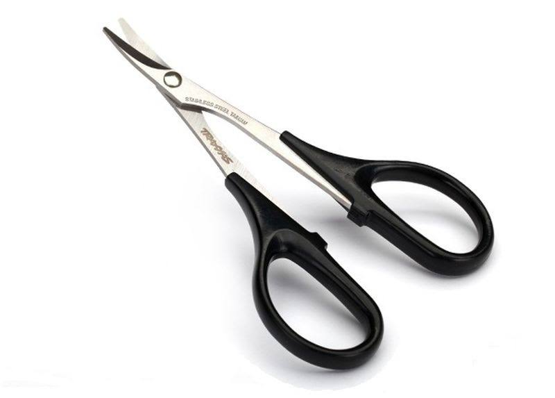 Traxxas 3432 - Scissors, Curved Tip