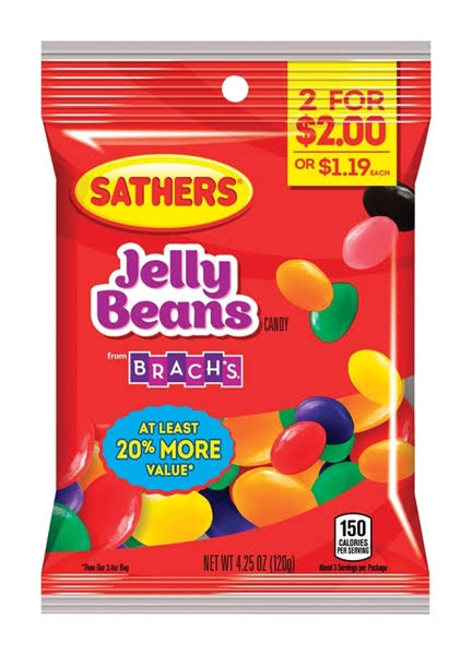Sathers Jelly Beans 4.25oz