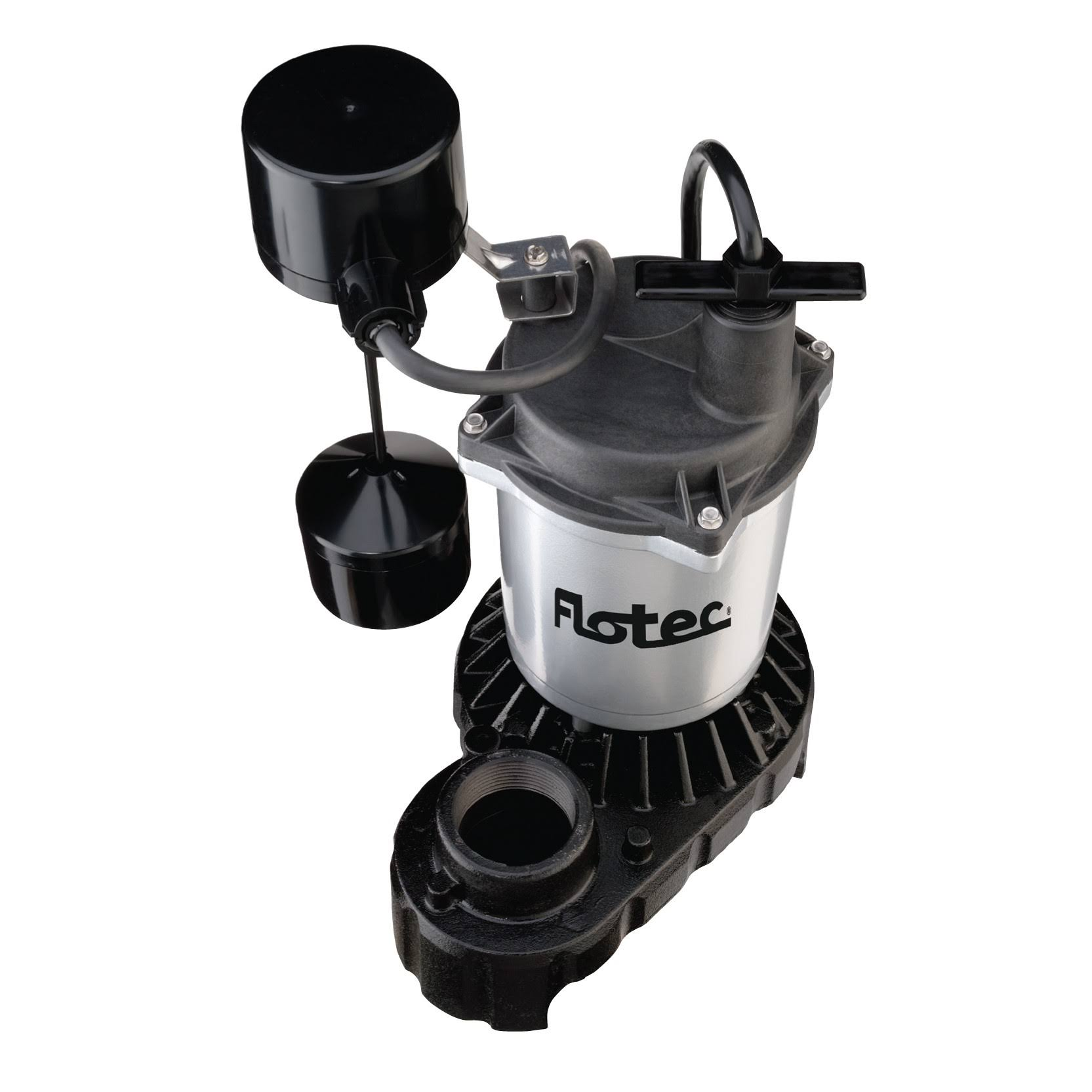 "Flotec Submersible Sump Pump - 1/3HP, 1-1/2"" FPT"