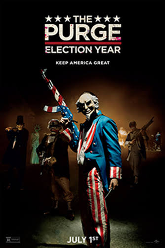 The Purge Election Year 2016 Hindi Dual Audio Movie Download HD 300MB