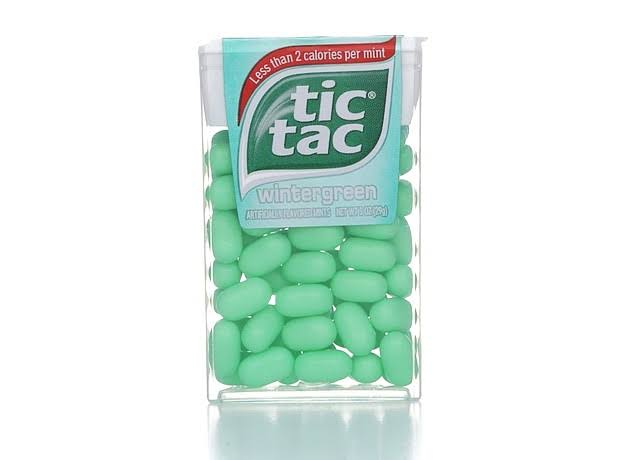 Tic Tac Wintergreen Mints - 1-Ounce