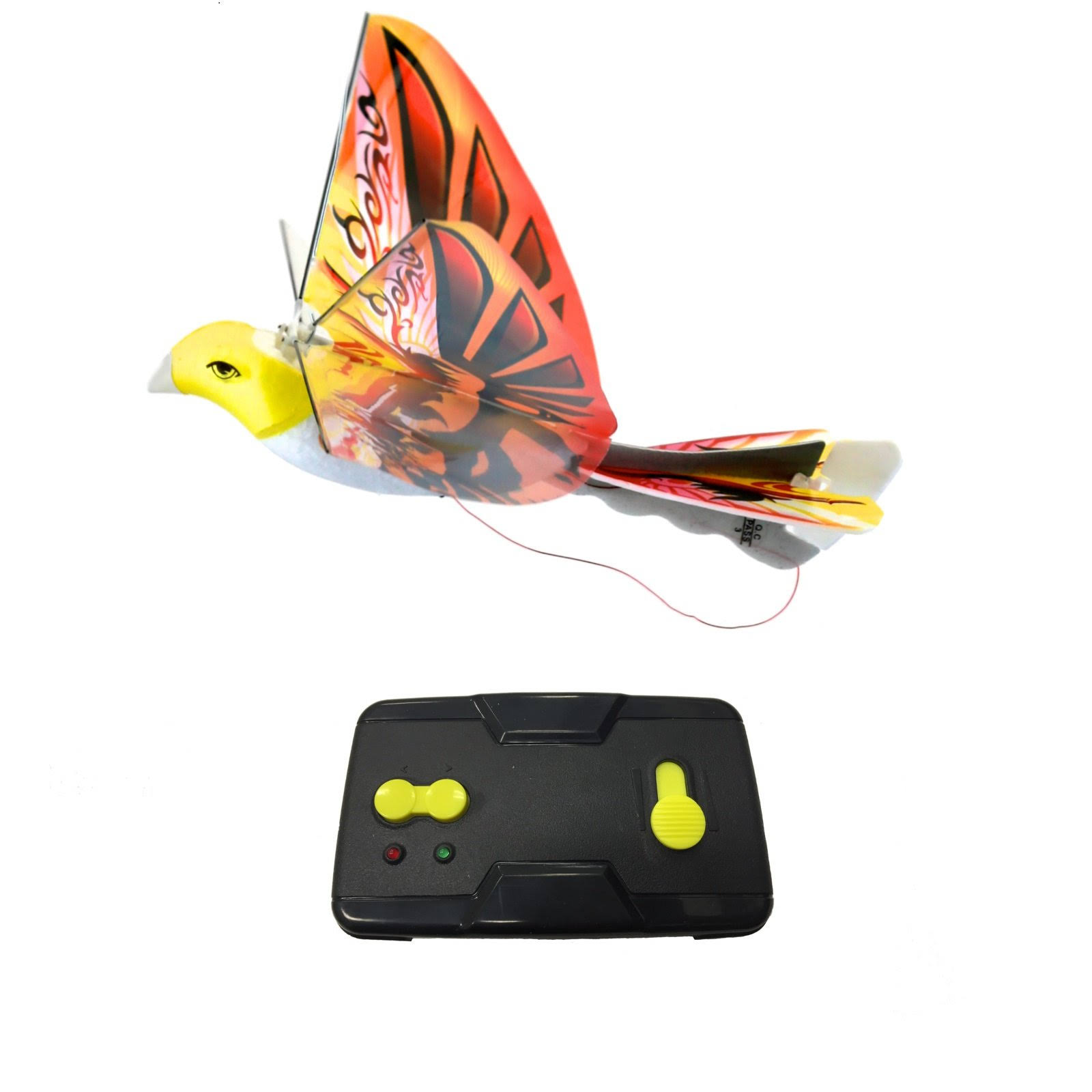 Mukikim eBird Orange x2 Channel RC Flying Bird