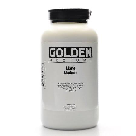 Golden Medium Fluid Matte Medium