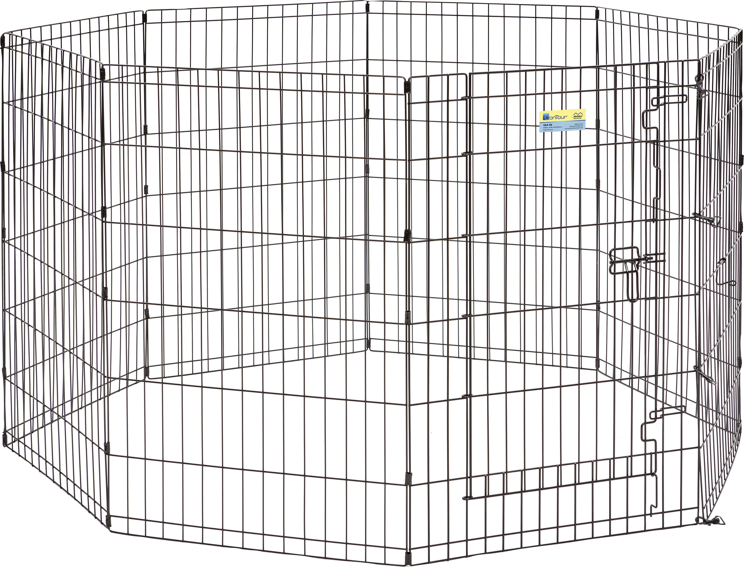 Midwest Container Contour Exercise Pen with Door 564-36