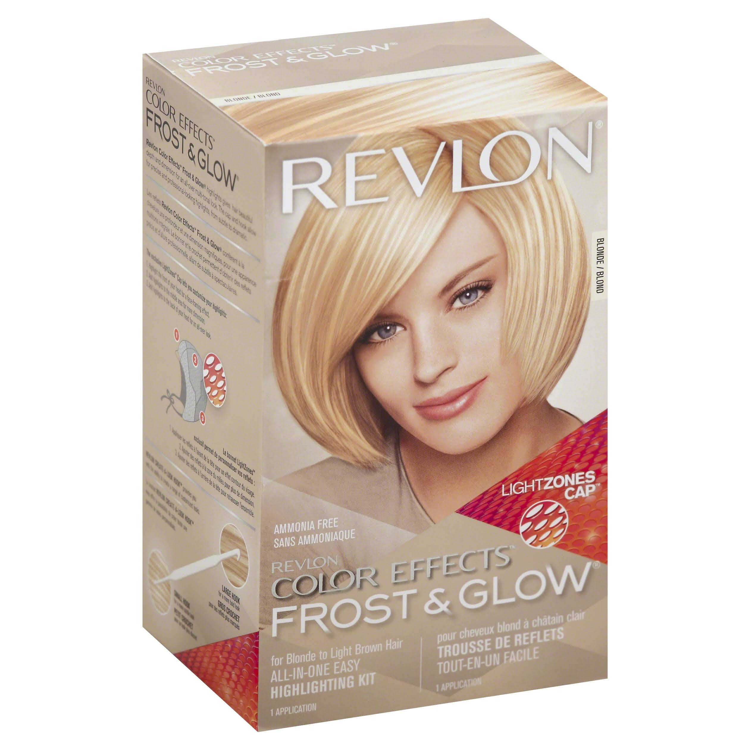 Revlon Color Effects Frost and Glow Hair Highlighting Kit - Blonde