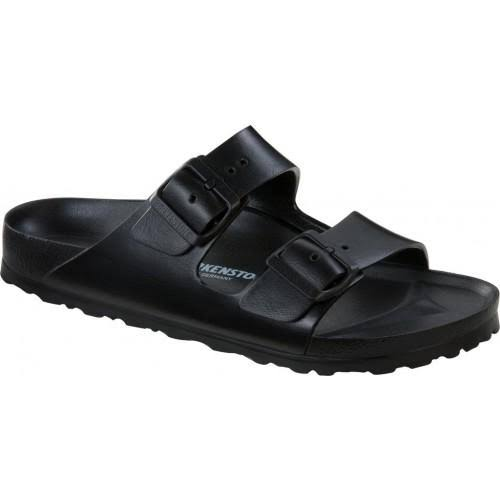 Birkenstock Women's Arizona Eva Narrow Sandal - Black, 37 EU