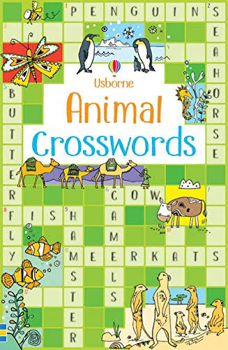 Animal Crosswords [Book]