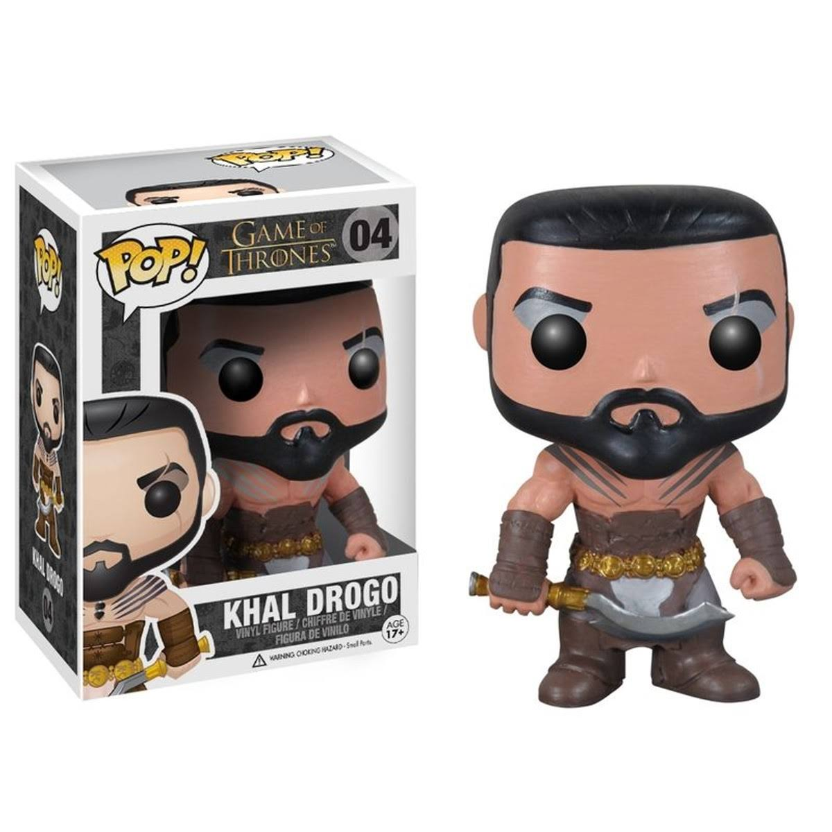Funko Pop! Game of Thrones Khal Drogo Vinyl Figure