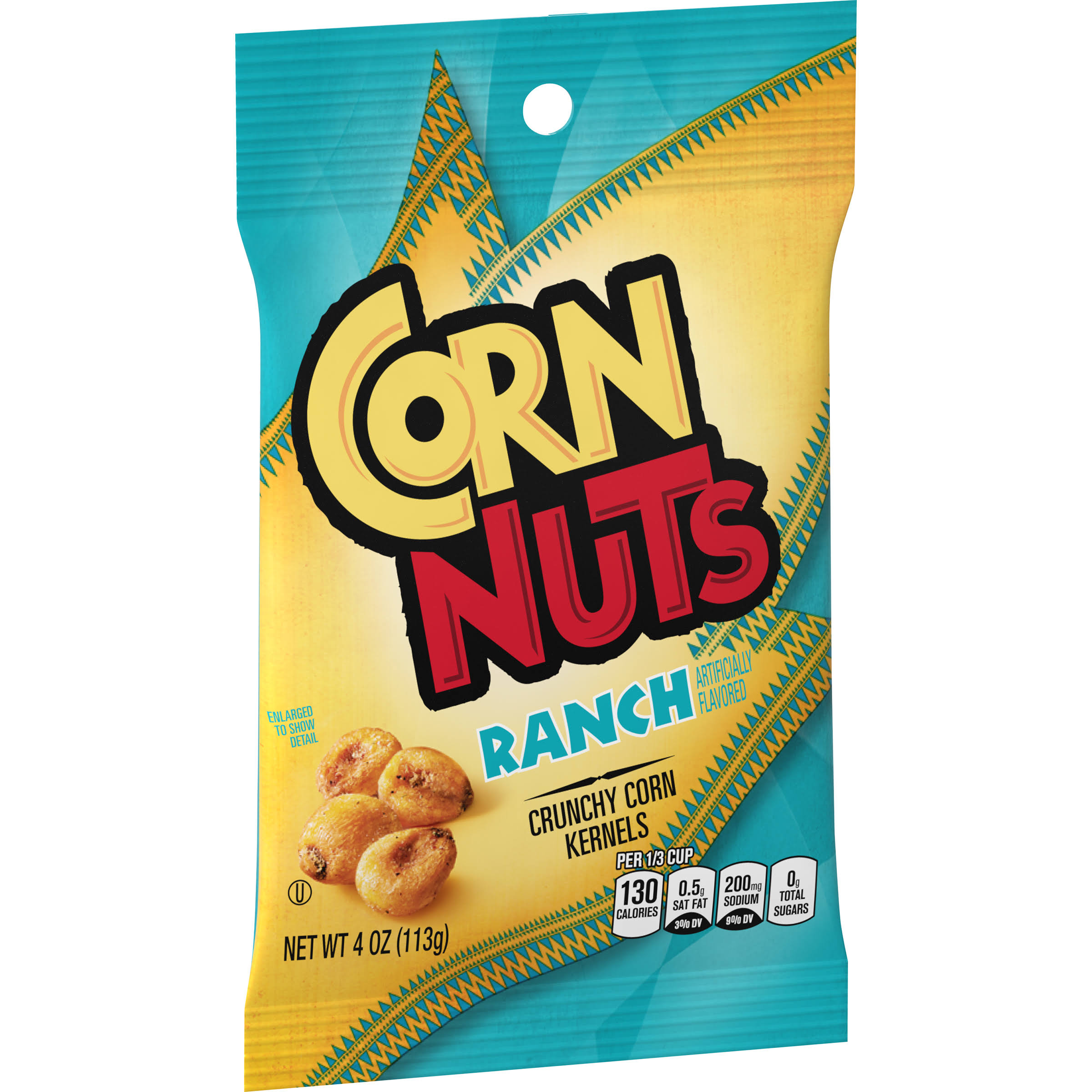 Kraft Corn Nuts Snack - Ranch Flavored, 4oz