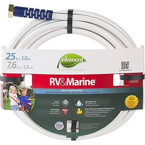 "Element Marine RV Lead Free Drinking Water Safe Hose - 1/2"" x 25'"