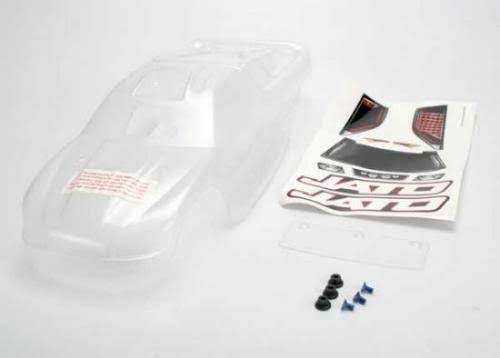 Traxxas 5511 Clear Body Jato