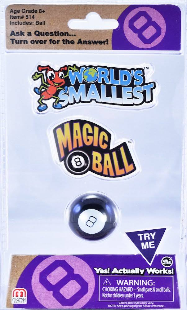 The World's Smallest Magic 8 Ball