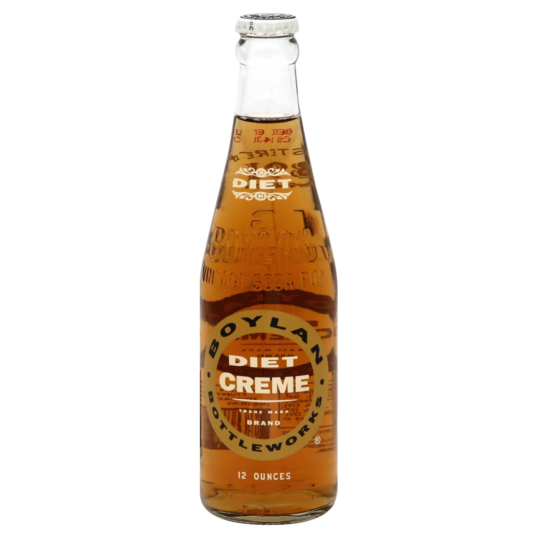 Boylan Diet Creme Soda - 12oz