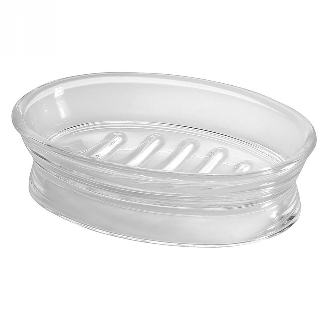 InterDesign Franklin Soap Dish - Clear