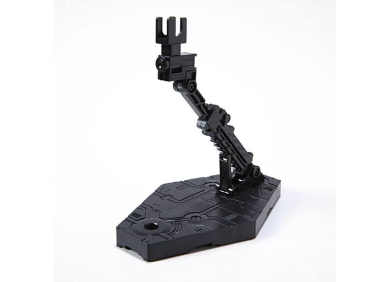 Bandai Hobby Action Base 2 Display Stand Toy - 1:144 Scale, Black