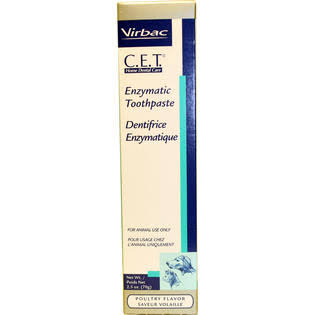 Virbac CET Dog Toothpaste - Poultry Flavor, 2.5oz
