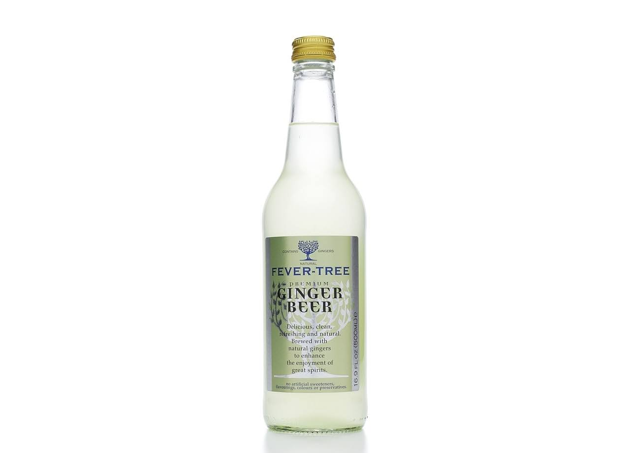 Fever Tree Soda Ginger Beer Premium - 16.9 fl oz