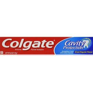 Colgate Cavity Protection Toothpaste - 6 oz