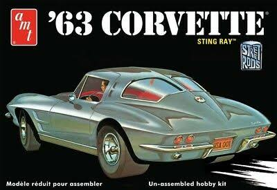 AMT 1 25 Scale 1963 Chevy Corvette Model Car