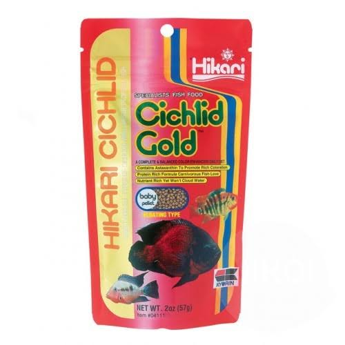 Hikari Cichlid Gold Floating Baby Pellets - 2oz
