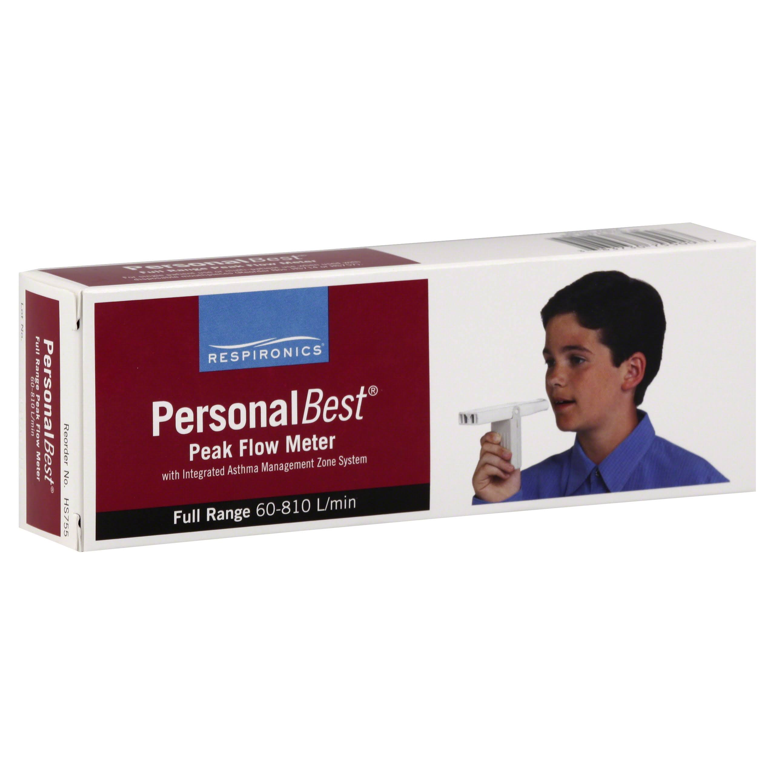 Personal Best Personal Best Peak Flow Meter, with Integrated Asthma Management Zone System