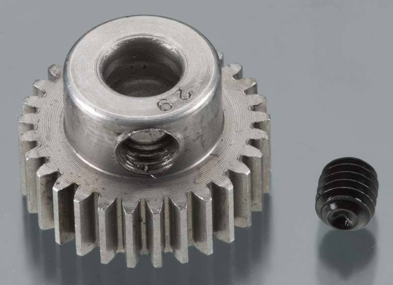 Robinson Racing - Hard 48 Pitch Machined 29T Pinion 5mm Bore - 2029