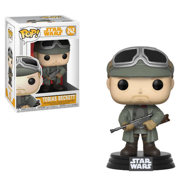 Funko Pop Star Wars Solo Tobias Beckett Vinyl Figure - 10cm