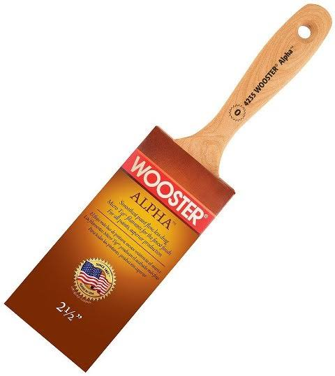 Wooster Brush Alpha Semioval Paintbrush - 2-1/2 in