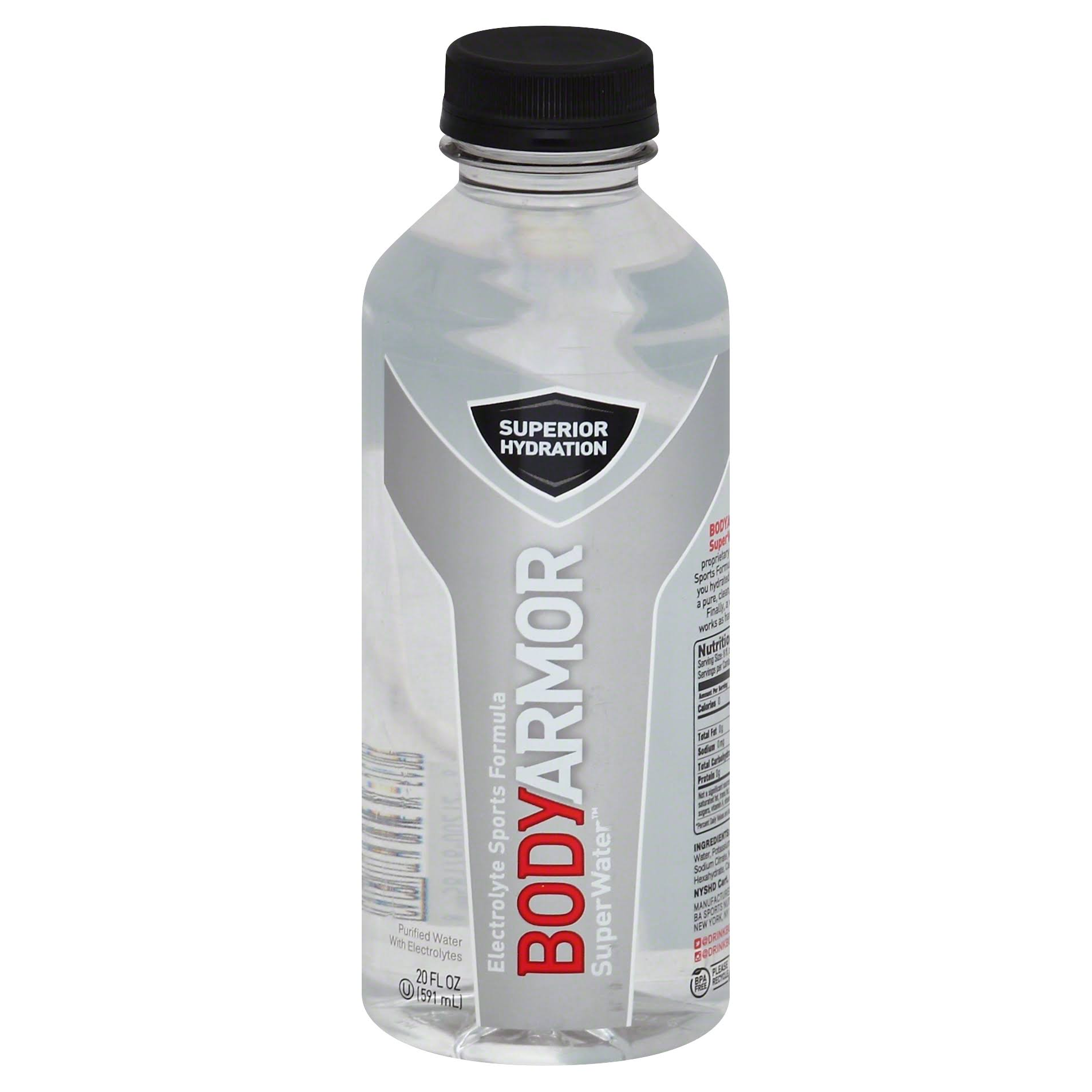 BodyArmor SuperWater - 20 fl oz