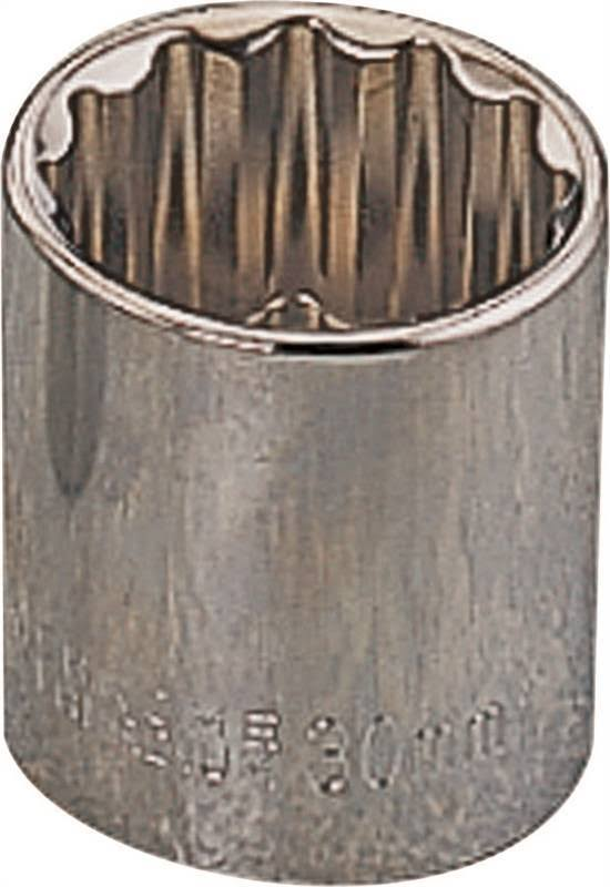 "Mintcraft Standard Socket - 1/2"", 13mm, 12pt"