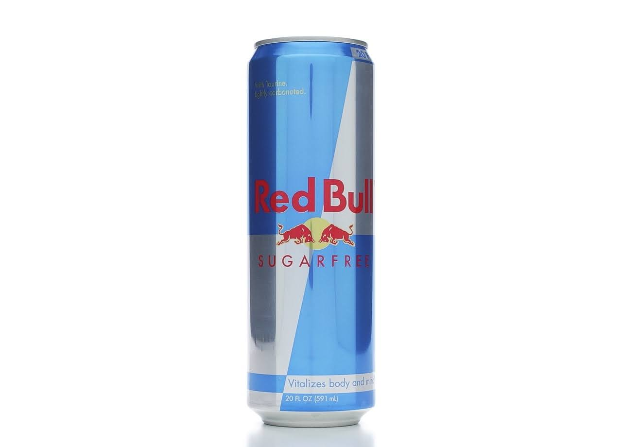Red Bull Sugar Free Energy Drink - 20 Oz