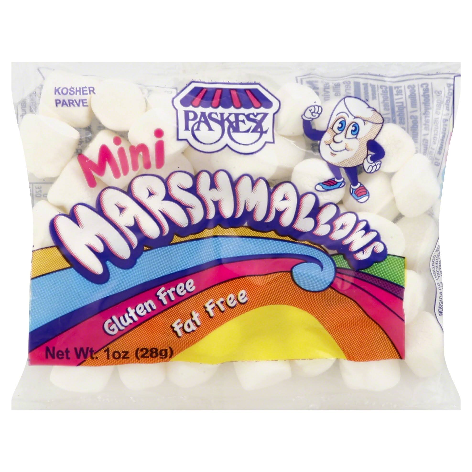 Paskesz Mini Marshmallows - 1oz