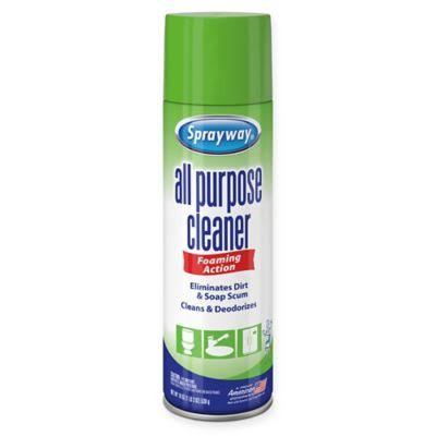 Sprayway All Purpose Cleaner, Foaming Action, Fresh Scent - 19 oz
