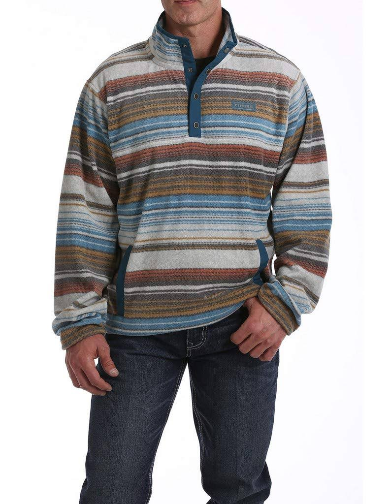 Cinch Printed Fleece Pullover Multi SM