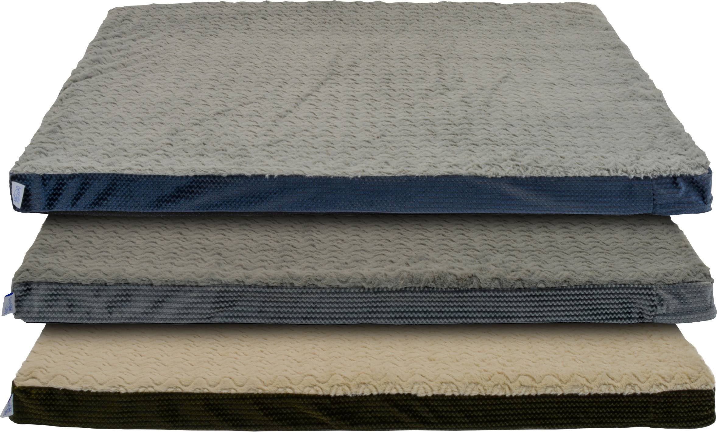 Dallas 100211692 34 x 42 in. Cozy Orthopedic Foam Rectangle Pet Bed