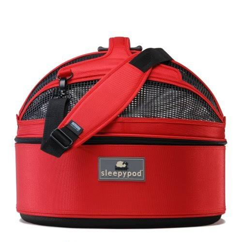 Sleepypod Mobile Pet Bed - Strawberry Red, M